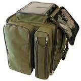 РСК-2 Рыбацая сумка карповая (2 коробки, 8 катушек и аксессуары).