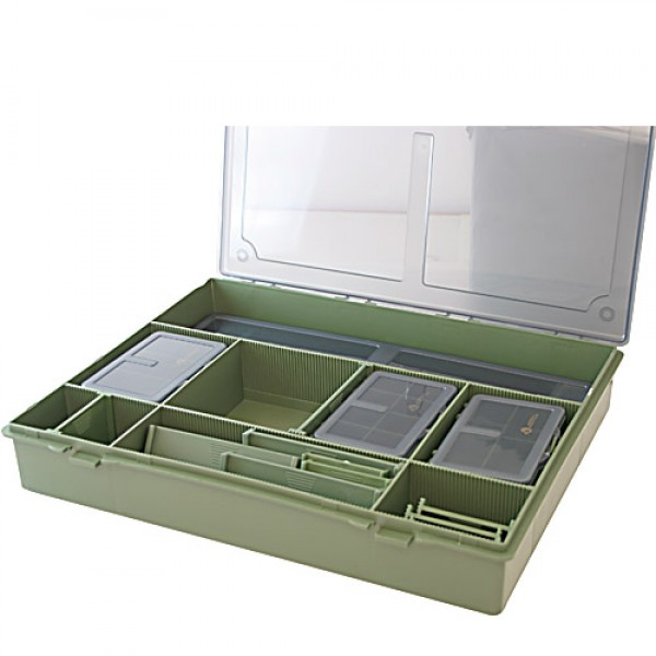 коробка бокс для карповой рыбалки acropolis кб-1
